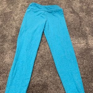 Tween sized aqua leggings